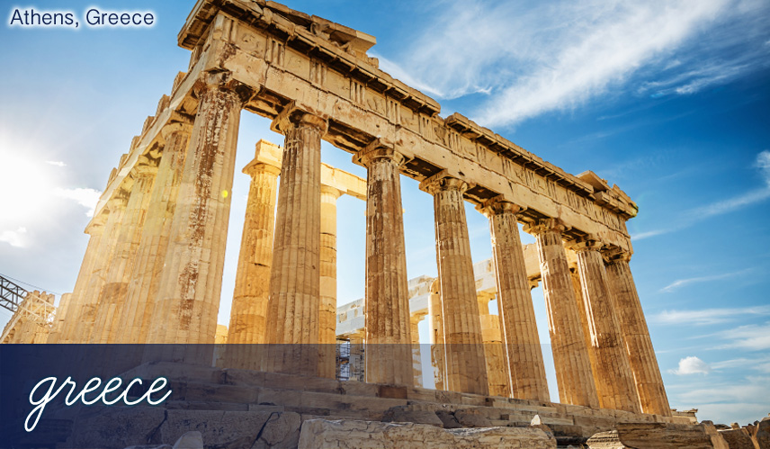 Cheap holidays to Athens