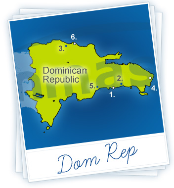 Dominican Republic Holidays Map