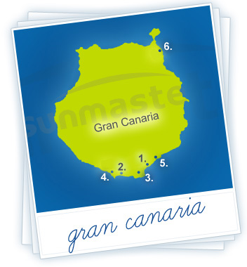 Gran Canaria Holidays Map