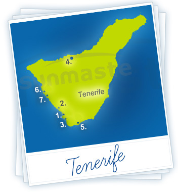 Tenerife Holidays Map